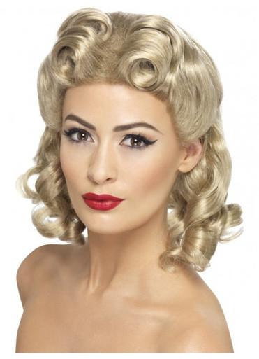 40's Sweetheart Costume Wig