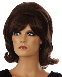 DELUXE Hairspray 1960's (Tracy Turnblad) Brown Costume Wig (20044)