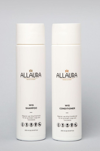 2 Pack - Organic Wig Shampoo & Conditioner (2 x 250ml) - Natural & Chemical Free