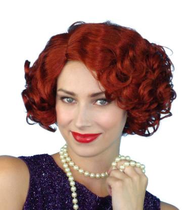 Cabaret 1920s Flapper Black Costume Wig