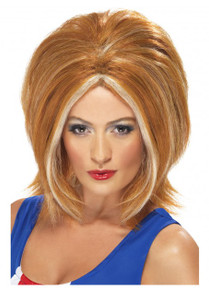 Ginger Girl Power Wig (SM-42130)