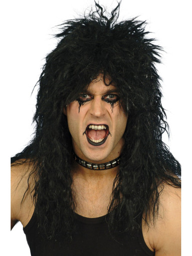 Alice Cooper Black Hard Rocker Wig (SM-42178)