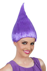 Purple Troll Doll / Gnome Costume Wig