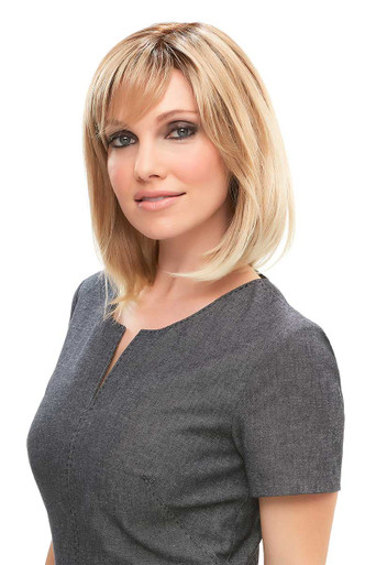 Emilia - Lace Front Monofilament Long Bob Wig - by Jon Renau