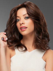 Jennifer - Human Hair Lace Front Monofilament Hand Tied Wig - by Jon Renau