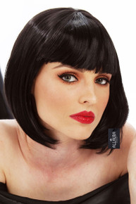Mia Wallace Pulp Fiction Womens Costume Wig - by Allaura