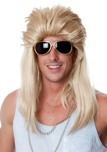 Mullet 80 S Mudflap Blonde Mullet Wig By Allaura The