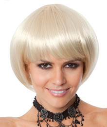Party Bob (Blonde) Costume Wig
