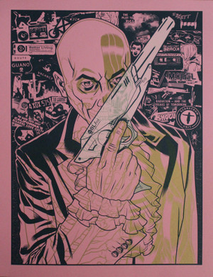 The Fabulous Killjoys Test Print pink