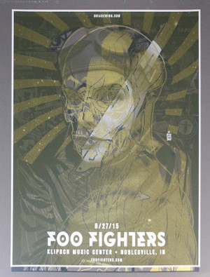 FOO FIGHTERS/KILLJOYS TEST PRINT