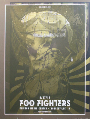 FOO FIGHTERS/WEEZER TEST PRINT 2
