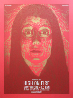HIGH ON FIRE TEST PRINT 1