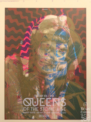 *MARILYN/ QUEENS OF THE STONE AGE Test Print
