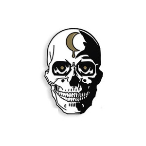 SKULL - BONE CHINA ENAMEL PIN