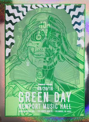 """GREEN DAY IGGY POP Test Print 1 FOIL"""
