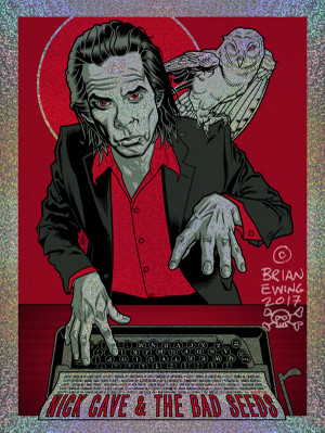 """ NICK CAVE & THE BAD SEEDS"" - FOIL"