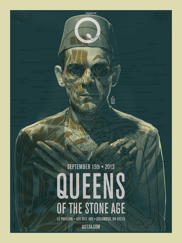 """""""QUEENS OF THE STONE AGE 3 AP"""""""