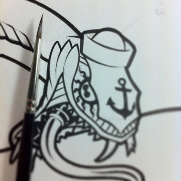 TURBOJUGEND PATCH ORIGINAL ART