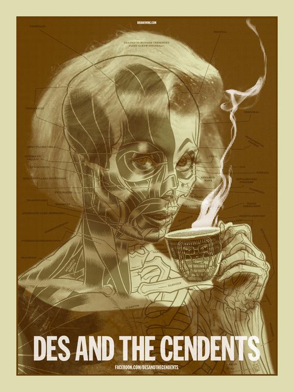 Des & The Cendents Original Art