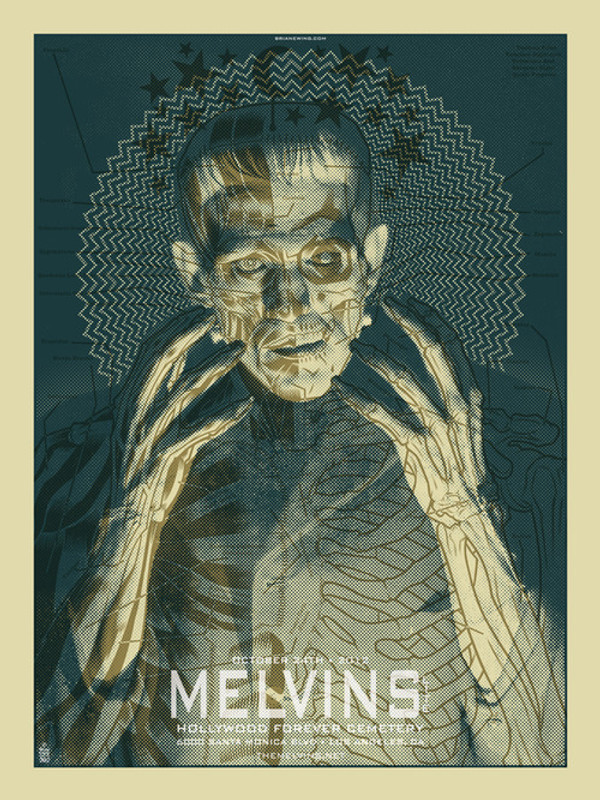 MELVINS / FRANKENSTEIN ORIGINAL ART