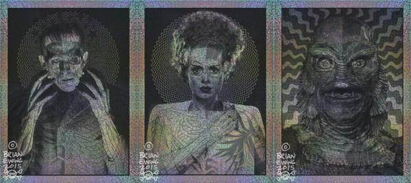 """""""The Silver Scream Trio FOIL"""""""