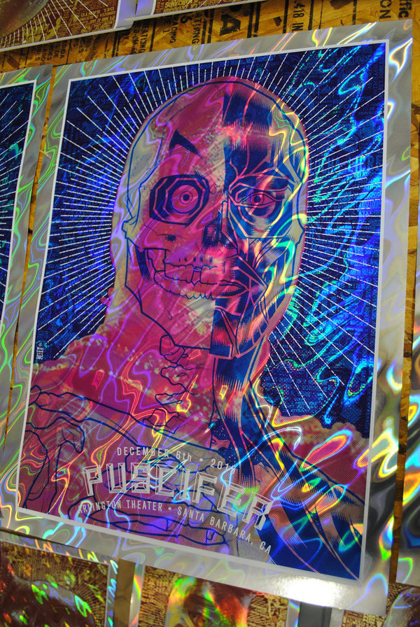 PUSCIFER BUBBLEGUM DROWNED FOIL VARIANT