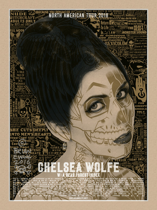 """CHELSEA WOLFE ORIGINAL ART"""