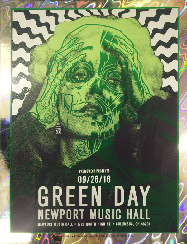 """GREEN DAY"" FOIL AP"