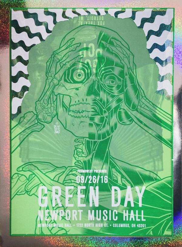 """GREEN DAY IGGY POP Test Print 1 FOIL"""