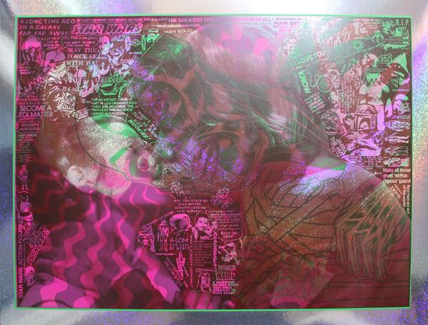 """""""MARILYN STAR WARS"""" test print FOIL"""