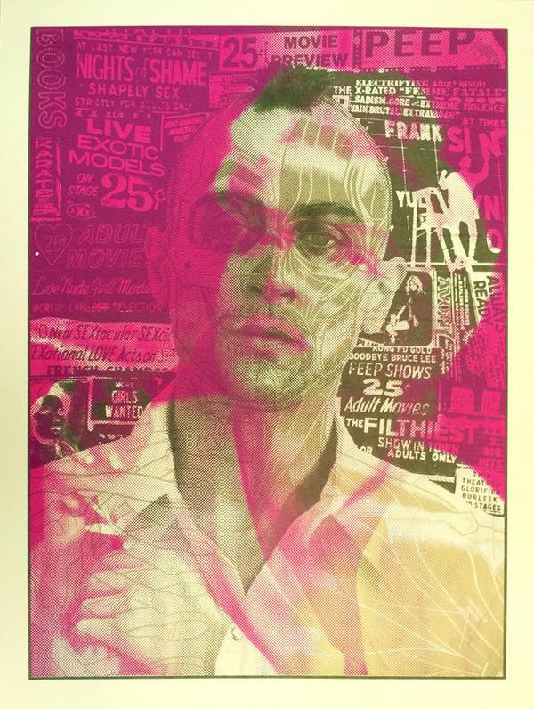 """ TAXI DRIVER MARILYN"" test print"