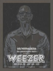 WEEZER WALKING DEAD X-RAY BLACK SET