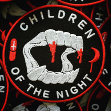 CHILDREN OF THE NIGHT - PATCH