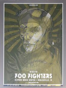 FOO FIGHTERS/KILLJOYS TEST PRINT