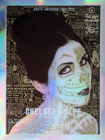 """Chelsea Wolfe Mirror Foil - VARIANT"""