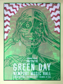 """GREEN DAY CREATURE Test Print"""