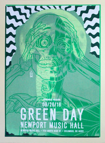 """GREEN DAY DRACULA"" Test Print"