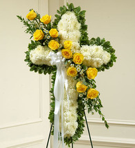 Yellow cross funeral