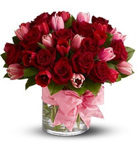 Sweet Roses and Tulips