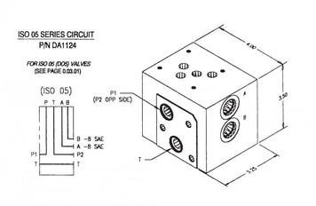 DA1124 - ISO 05 SERIES CIRCUIT