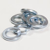 "Spring Washer Zinc: 1/2"". Qty 100"