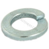 Spring washer zinc plated