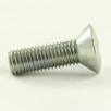 Oval head metal thread