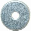Flat Round Washer Zinc/pl