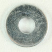 Flat Washer Zinc 1/4 x 3/4 OD x 16G. Qty: 100