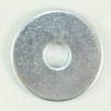 Flat Washer Zinc 1/4 x 1 OD x 16G. Qty: 100