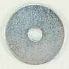 Flat Washer Zinc 1/4 x 1 1/4 OD x 16G. Qty: 100