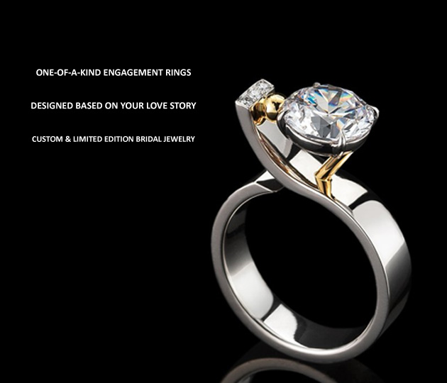 Unique Diamond Engagement Rings for Women Custom Engagement and