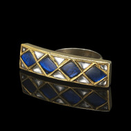 Your Royal Highness Bridge Ring -Blue