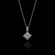 Eternally Beautiful Princess Diamond Necklace
